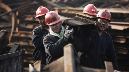 The development of Chinese coal mining